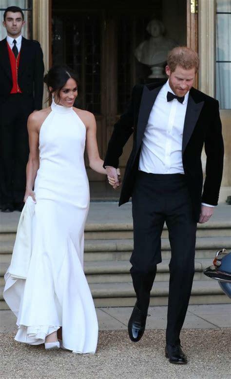 Meghan Markle's Stella McCartney Evening Wedding Dress