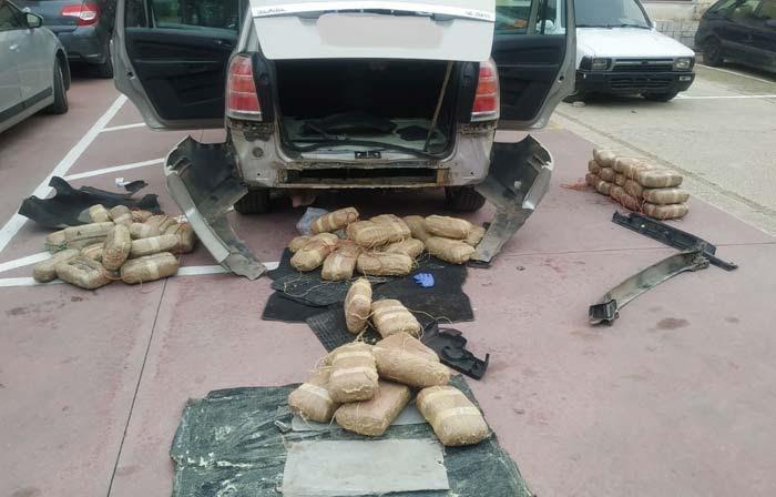 Άρτα: Κατασχέθηκαν 59 κιλά κάνναβης στο Κομπότι Άρτας