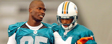 Chad Johnson gets bad news hours after he's released from jail. (Alan Diaz/AP)