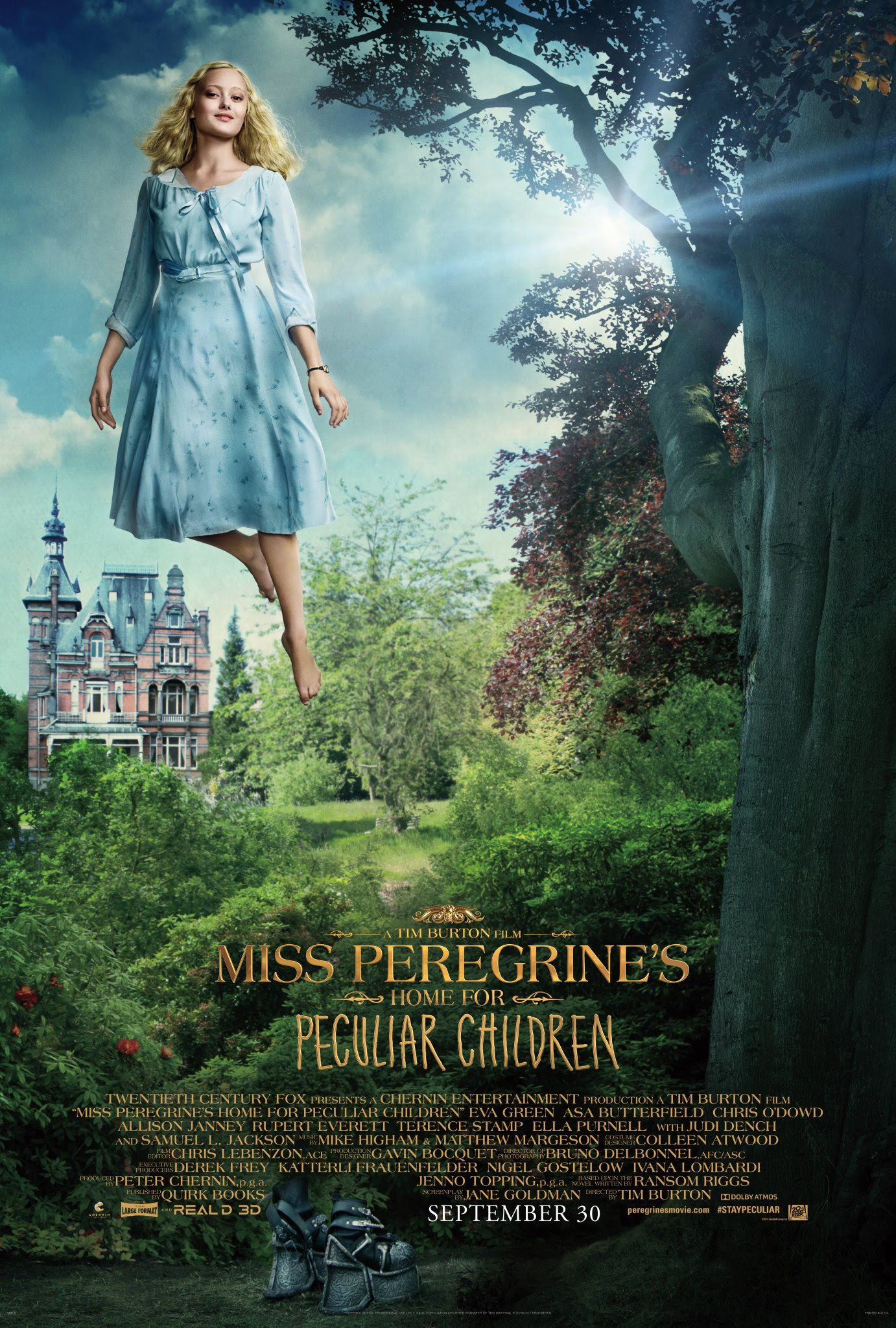 Miss Peregrine S Home For Peculiar Children Emma Bloom Poster