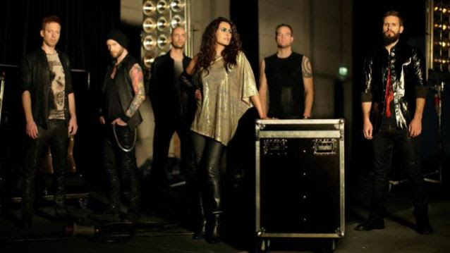WITHIN TEMPTATION To Release 'Let Us Burn - Elements & Hydra Live In Concert' DVD, Blu-Ray, 2CD
