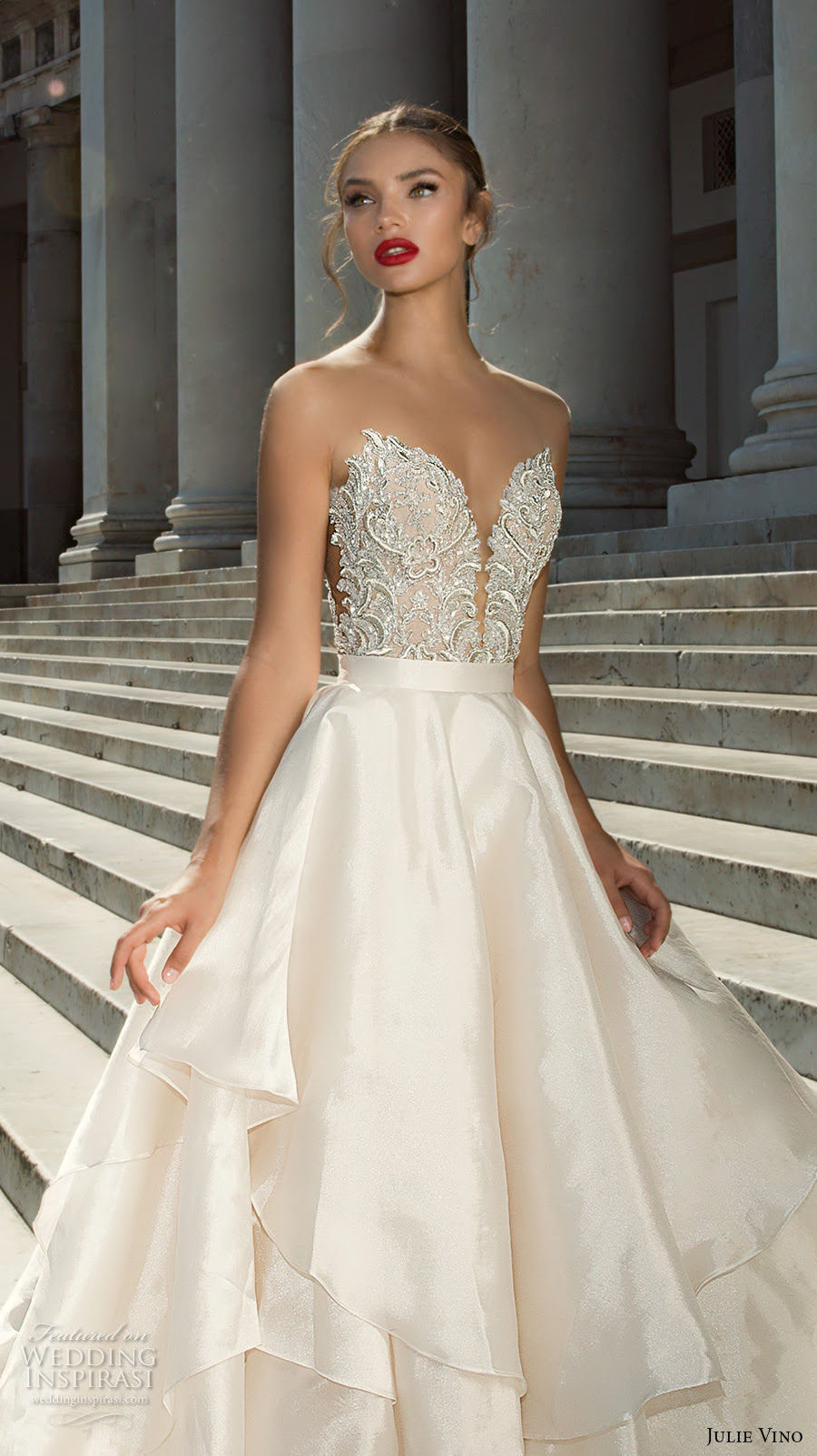 julie vino fall 2017 wedding dresses from the napoli