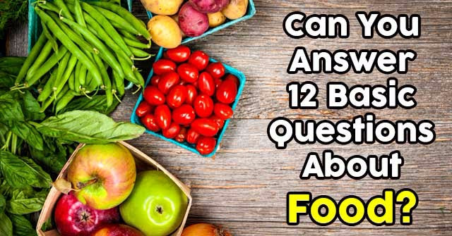 Nutrition News: Nutrition Quiz Questions With Answers