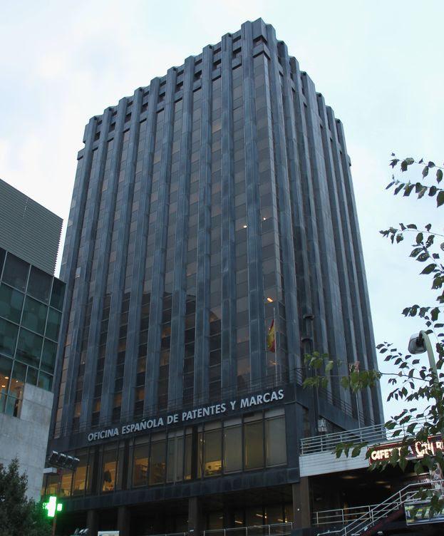 Foto: Sede de la Oficina Española de Patentes y Marcas (OEPM) en Madrid. (Wikipedia)