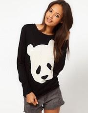 ASOS – Pullover mit Pandamotiv