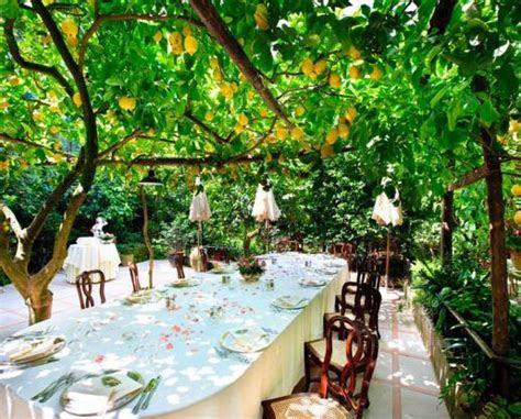 Sorrento Cloisters Ceremony & Lemon Garden Reception