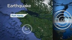 Port Hardy mayor on 6.7 earthquake