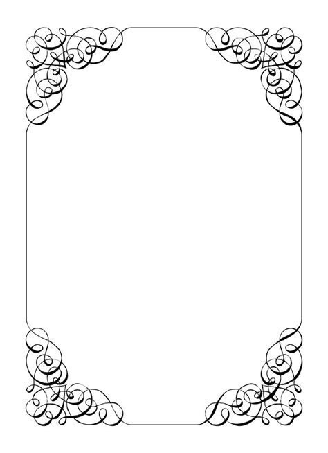 Borders and Frames     frame vintage calligraphic frame