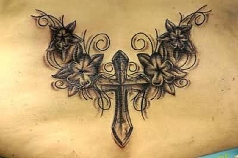 Tattoo Angel Wing Cross Tattoos Book 65000 Tattoos Designs
