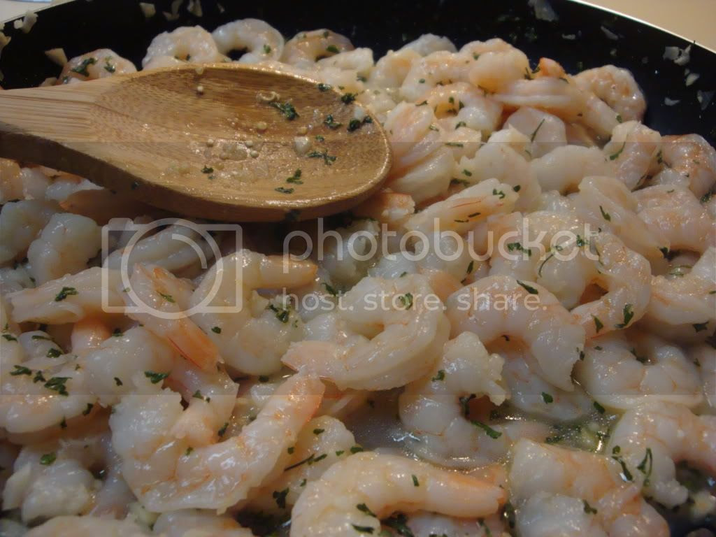 shrimp with parsley and lemon