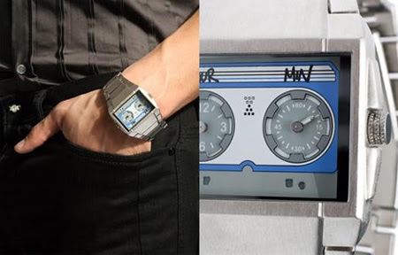 Cassette Tape Watch