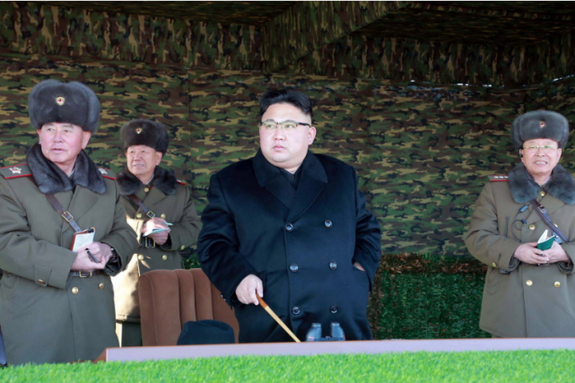 La Corée du Nord a procédé dimanche au tir d'essai d'un missile balistique qui... (Photo AFP)