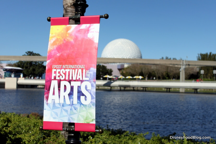 2019 Epcot Festival Of The Arts Booths Menus And Food Photos The Disney Food Blog