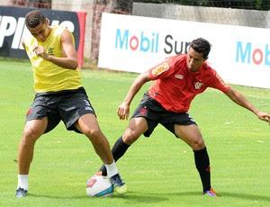 Welinton em treino do Flamengo (Foto: Alexandre Vidal/Fla Imagem)