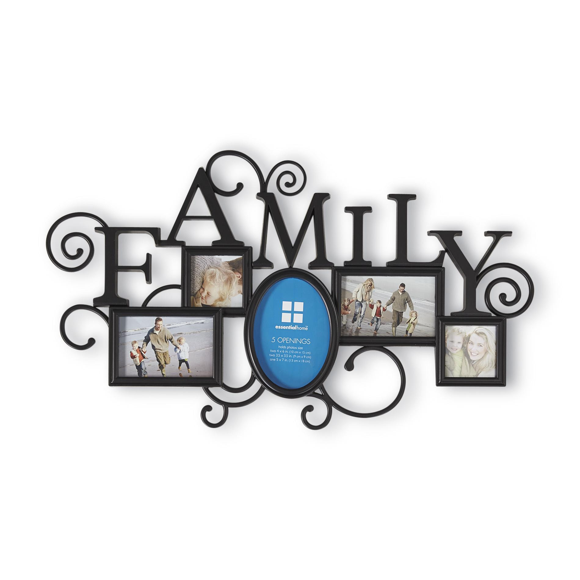 Upc 642828191371 Essential Home Family Collage Wall Frame