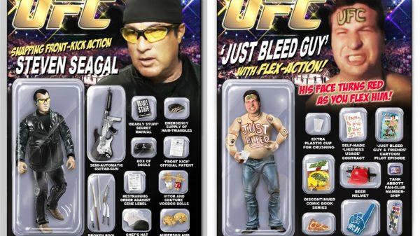 Ήρωες του UFC σε στυλ Action Man