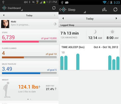 Fitbit updates Android app with wireless syncing over Bluetooth 40