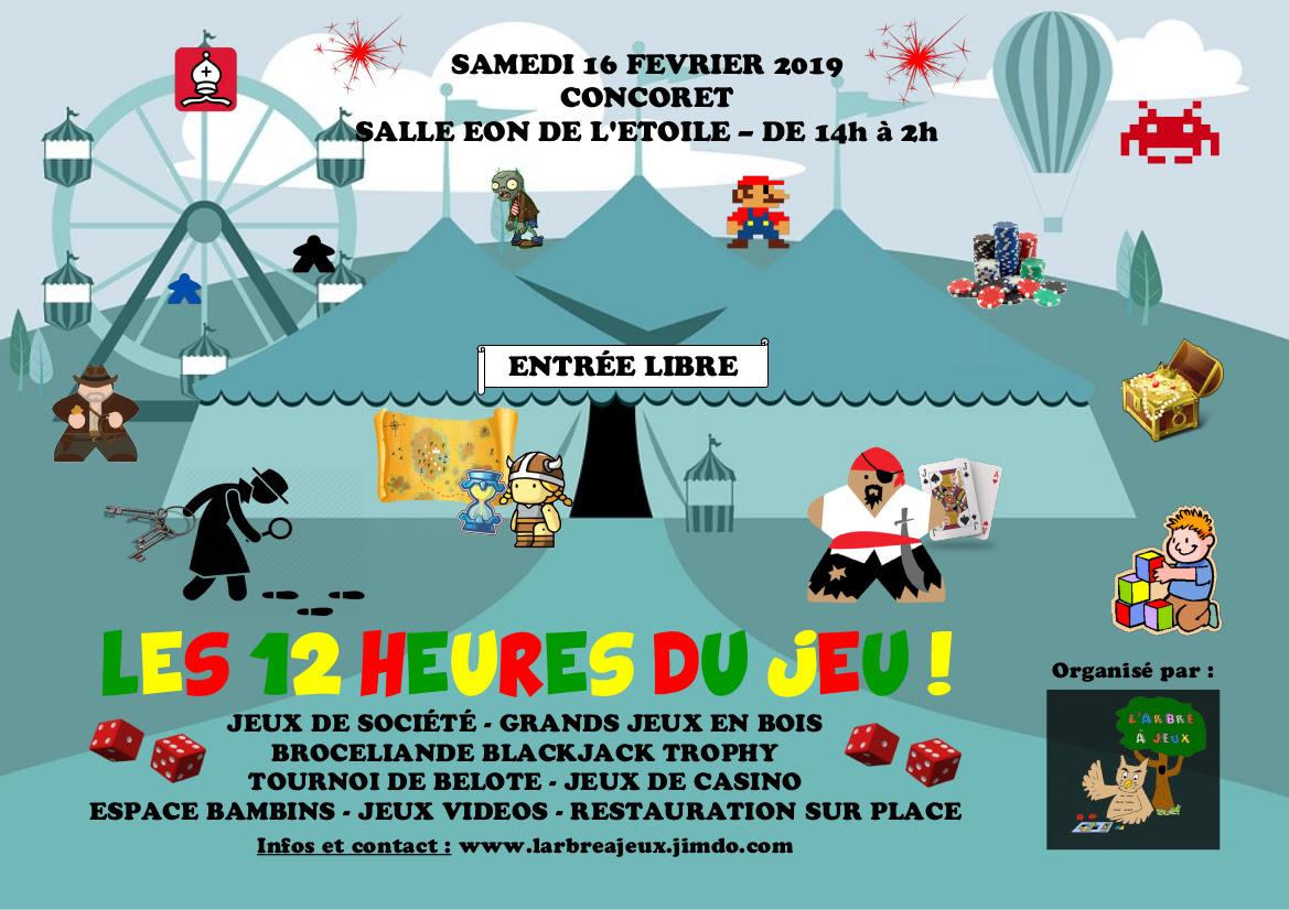 Le Meeple Breton 2019 16 Février Les 12 Heures Du Jeu