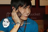 Spotted! : Robi Domingo 's Cellphone