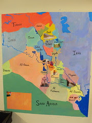 Karen has put labels on our map of Iraq!