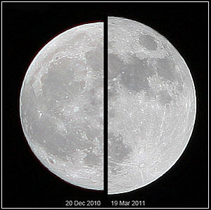 """English: The """"Supermoon"""" of March 19..."""