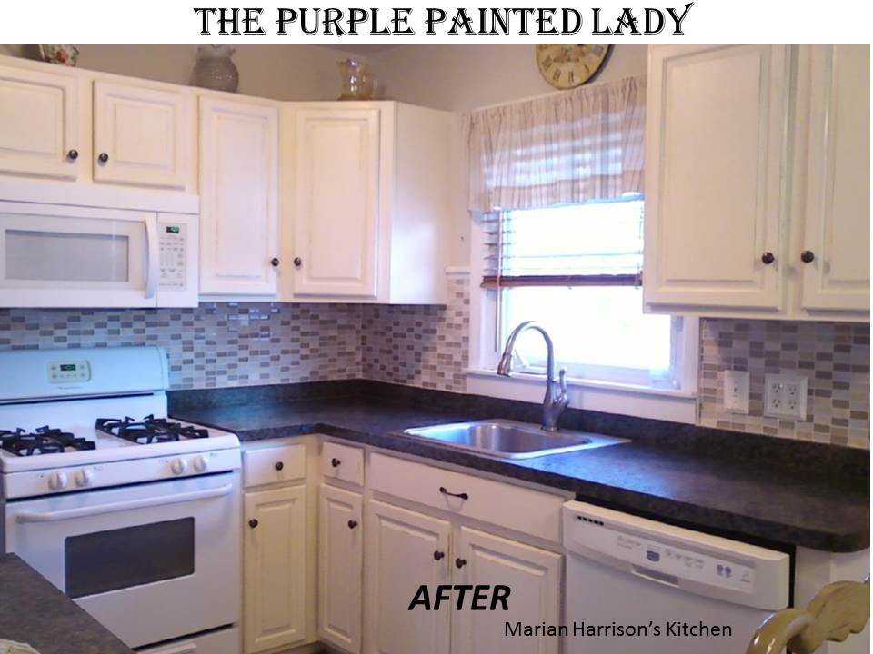 The Purple Painted Lady | Tricia Is Your Chalk Paint® Decorative
