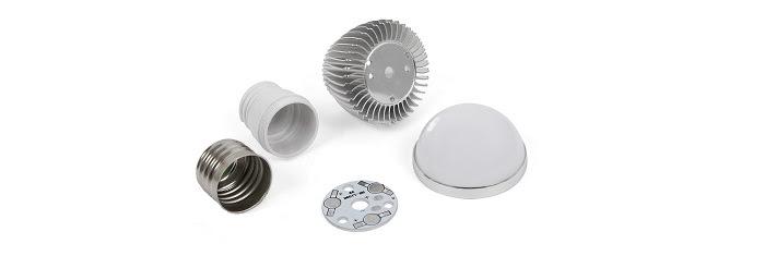 Комплект для сборки светодиодной лампочки