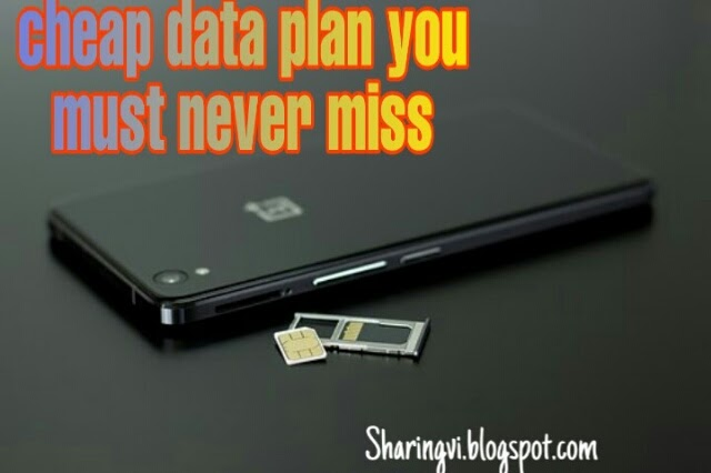 Cheap data plan you must never miss
