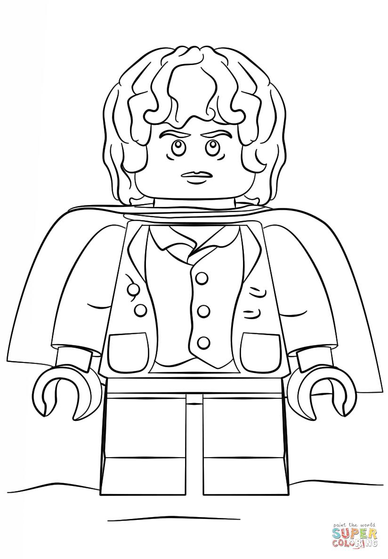 Ausmalbilder Lego Hobbit Top Kostenlos Färbung Seite Advents