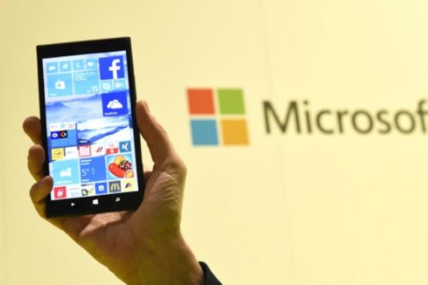 A Microsoft pretendelançar neste mês o sistema operacional Windows 10, que será executado em PCs e dispositivos móveis. Foto: Tobias Schwarz/AFP/Arquivos