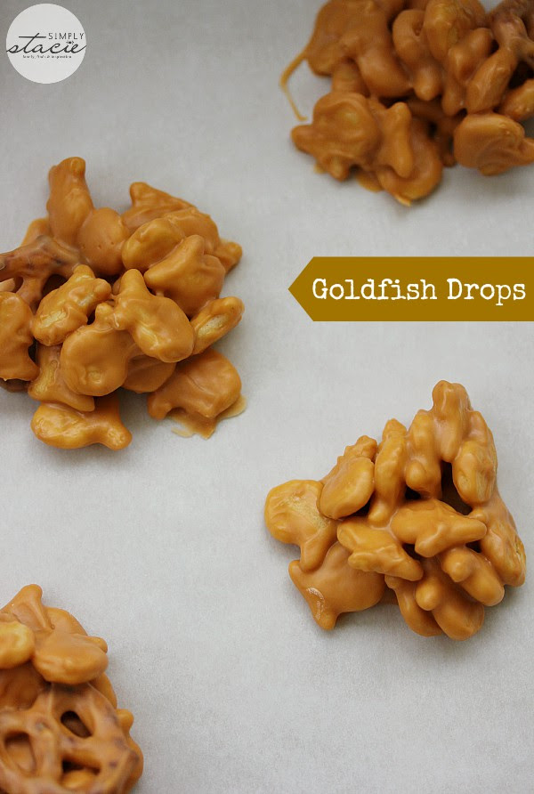 Goldfish Drops  from Simply Stacie
