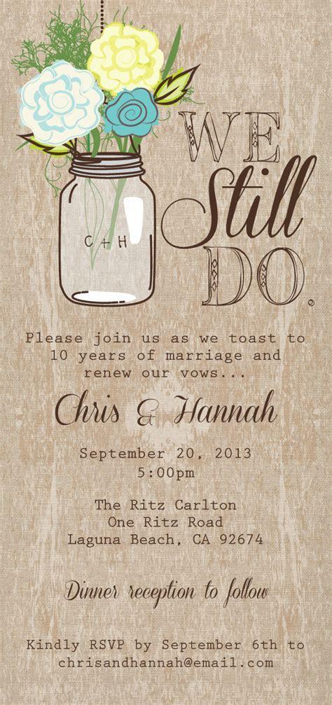 Wedding Renewal Invitations on Pinterest