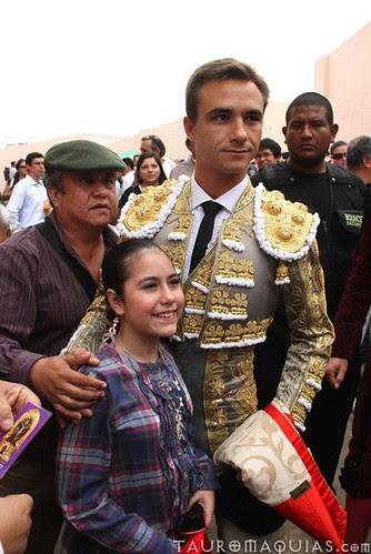 Juan Bautista y Claudia Donet en Acho Lima