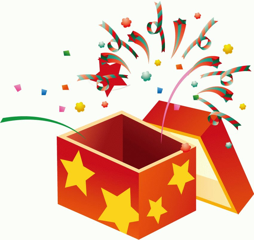 Open Gift Box Clipart Gif Clip Art Library