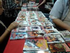 el estilo de los comics estuvieron presentes en la edición de Comic-con