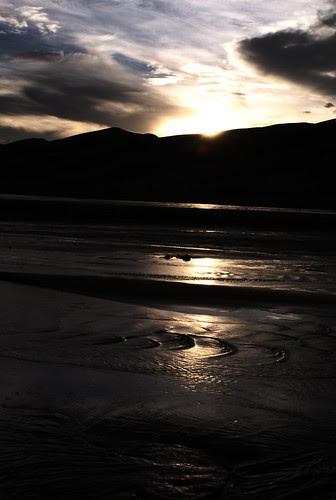 Sunset at Medano Creek