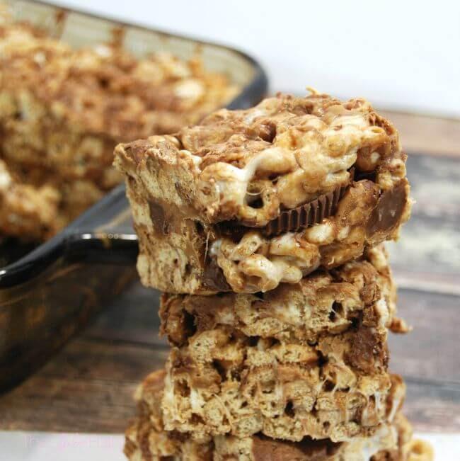 Gluten Free Cheerios Bars   The TipToe Fairy
