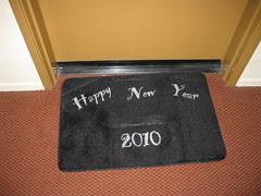 New Years Door Mat