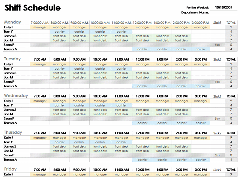 Daily Routine Schedule Template   Daily Planner