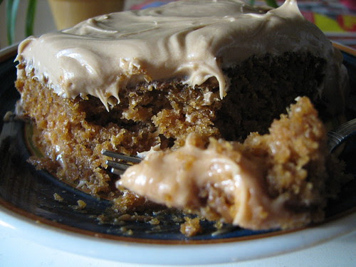 Peabody's Pumpkin Butterscotch Cake