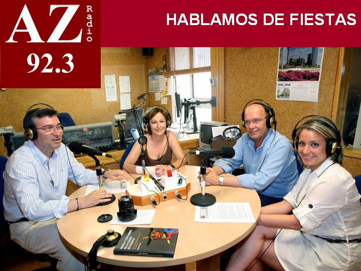 EL CONCEJAL DE FIESTAS EN AZ RADIO