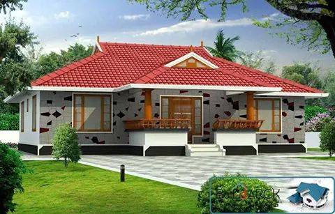 Low Budget Kerala Home Design With Plan 1200 Square Feet Home Pictures