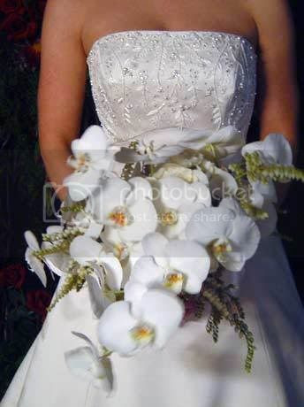 White Orchid Bouquet Pictures, Images and Photos