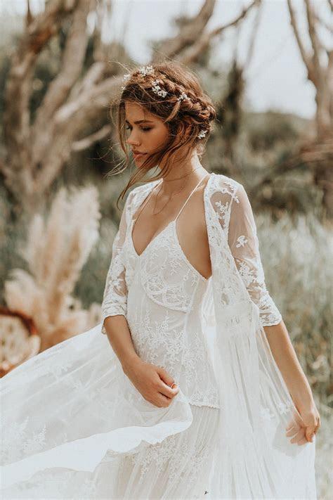 The most romantic boho wedding dresses every bride will