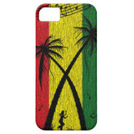 Reggae Hard Case iphone 5 iPhone 5 Cover