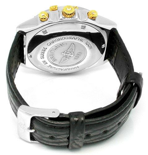 Foto 4, Orig. Breitling-Chronomat St/G Shop! Neuzust. Portofrei, U1790