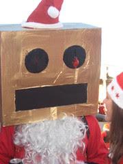 Robot Santa - Santcon 2011 - Trafalgar Square