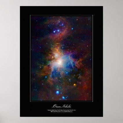 Orion Nebula gallery-style poster