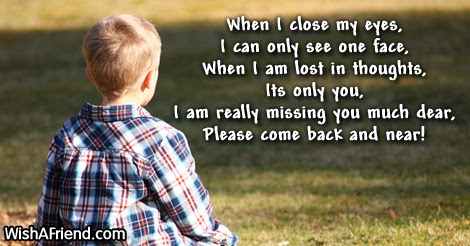 Missing You Messages For Girlfriend