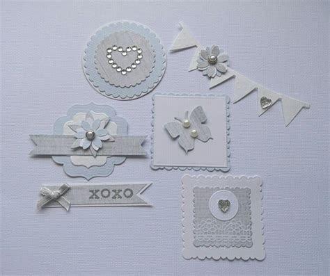 Wedding scrapbook embellishments acid free   Die cut outs